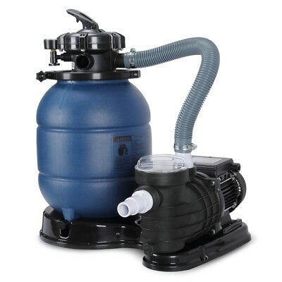 """New Pro 2820GPH 13"""" Sand Filter Above Ground 10000GAL Swimming Pool Pump UL"""