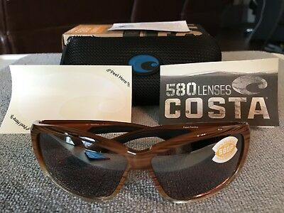 a191f03fa4a74 Costa Del Mar Luke Polarized Sunglasses - Wood Fade   Silver Mirror 580P  Lens