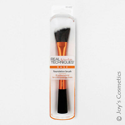 "1 REAL TECHNIQUES Makeup Brush - Foundation brush ""RT-1402"" Joy's cosmetics"