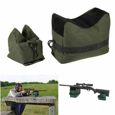 Target Hunting Shooting Range Sand Bag Set Rifle Gun Rest Stand Pack Tactical AU