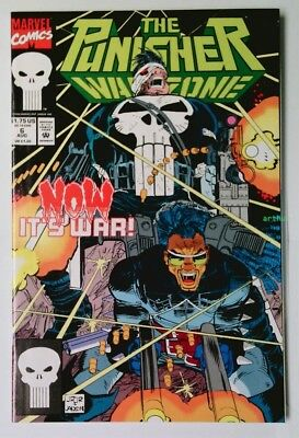 The Punisher: War Zone #6 (Aug 1992, Marvel) NM