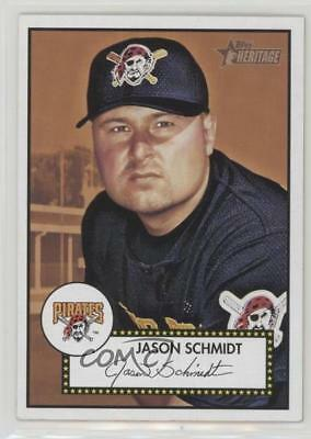 2001 Topps Heritage #333 Jason Schmidt Pittsburgh Pirates Baseball Card