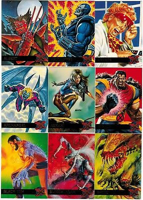 1995 X-Men Fleer Ultra Series Ii 2 Marvel Complete Card Set #1-150