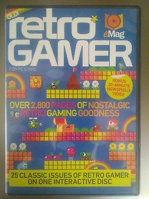 RETRO GAMER EMAG - issues 1 - 30 on 1 dvd for mac or pc
