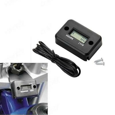 LCD Digital Counter Hour Meter Tool For Car Marine Motorcycle Generator Engine Z