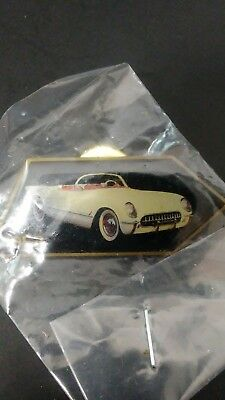 1953 Corvette pin from the 50th 2003 Bow Tie Pin Set of 4 pieces