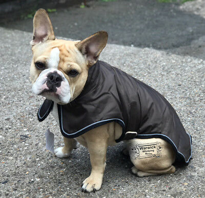 Dog Coat Avalon Brown Teflon Coated Windproof & Waterproof Light Weight SALE ***