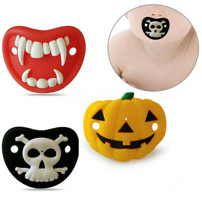 Halloween Silicone BabyToddler Funny Dummy Dummies Pacifer Nipple Child Soother
