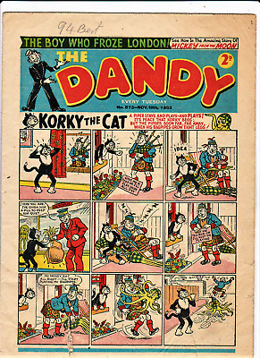 DANDY # 573 November 15th 1952 issue The comic
