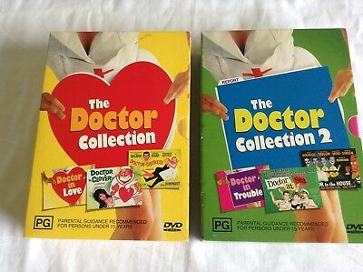 THE DOCTOR COLLECTION - VOLUME 1 & 2 Like New!