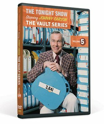 The Tonight Show Staring Johnny Carson The Vault Series Volume 5 Brand New DVD