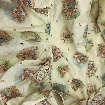 Vintage Beatrix Potter By Quilted Crib Canapy 968 Canopy Peter Rabbit Nursery