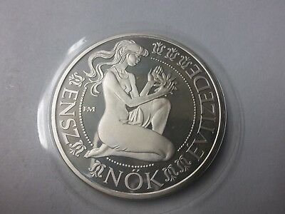 1984 Hungary Large Silver Proof 500 Forint-Decade for Women