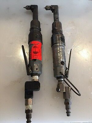 (1) Rockwell Pneumatic 90 Degree Right Angle Drill 2800 RPM Aircraft Tools