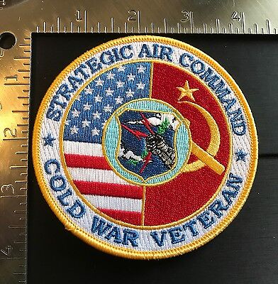 Usaf Sac Strategic Air Command Cold War Veteran Patch