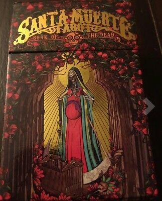 Santa Muerte Tarot Deck: Book of the Dead FREE TWO DAY SHIPPING