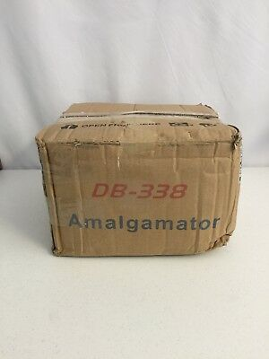 Dental amalgamator DB-338 controlled by a microprocessor CE FDA