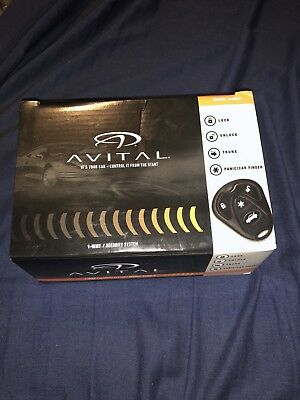 Avital 3100LX 3-Channel Keyless Entry Car Alarm