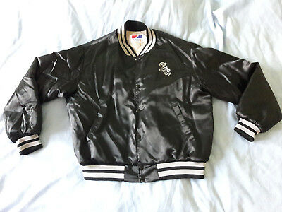 MLB Jacke Chicago White Sox XL Swingster Satin Glanzjacke old school