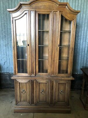 Drexel Dining Room Set  Complete With China Cabinet And Server