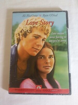 Love Story DVD Ali MacGraw  Ryan O'Neal