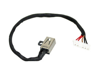 DC POWER JACK SOCKET CABLE Dell Inspiron 15 3551 15-3552 15-3558 450.03006.0001