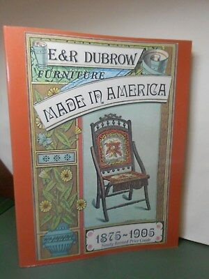 Research Book -  Furniture Made In America by E&R Dubrow