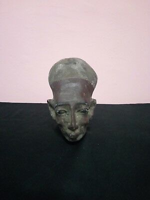 RARE ANCIENT EGYPTIAN STATUE Queen Meritaten Head Akhenaten 1365-1320 Bc