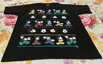 VTG Disney Mickey Unlimited By Jerry Leigh Black XL T Shirt Mickey Mouse Graphic