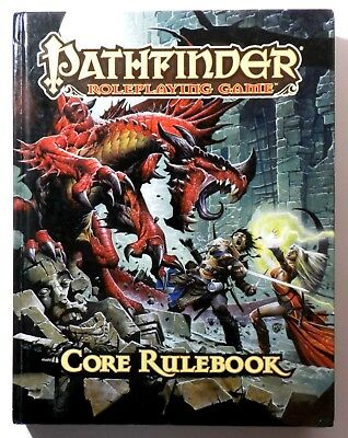 PATHFINDER Roleplaying Game Core Rulebook Hardcover 6th Printing