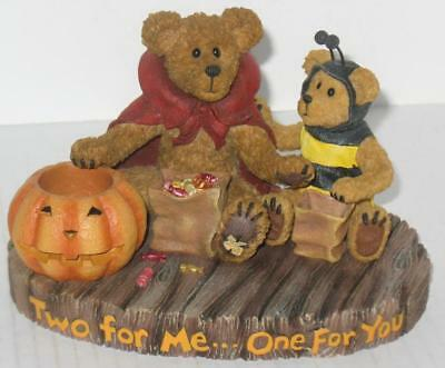 Boyds Bear Halloween Candy Devon Lil' Buzz Two for Me One for You Candy 4016648