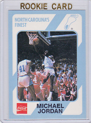 Michael Jordan Rookie Card North Carolina Unc College