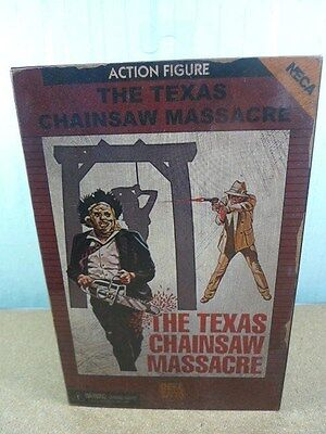 """Neca Leatherface The Texas Chainsaw Massacre Video Game Appearance 7"""" Figure BN"""