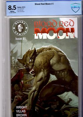 blood red moon. issue 1 cbcs.8.5