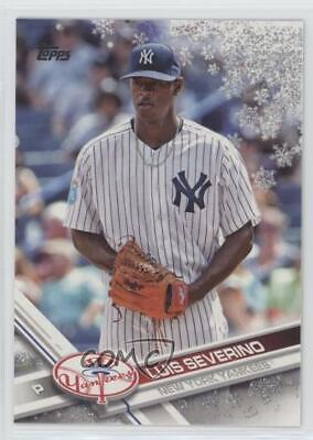 2017 Topps Holiday #HMW171 Luis Severino New York Yankees Baseball Card