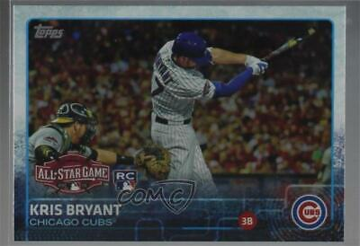 2015 Topps Update Series Rainbow Foil #US242 Kris Bryant Chicago Cubs Rookie