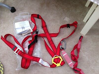Froment Safety Harness with Fall Arrester