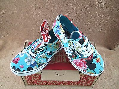 d60fdf4794 New Vans Authentic Lo Pro Floral Shoe Smoked Pri tr Wht Youth 10.5