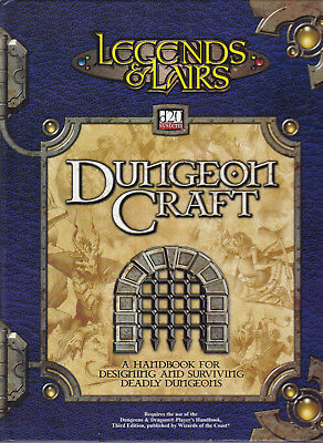 Legends & Lairs d20 System - Dungeon Craft