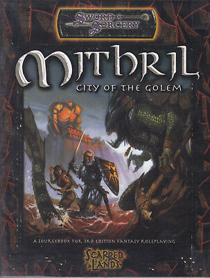 Sword & Sorcery - Scarred Lands: Mithril. City of the Golem