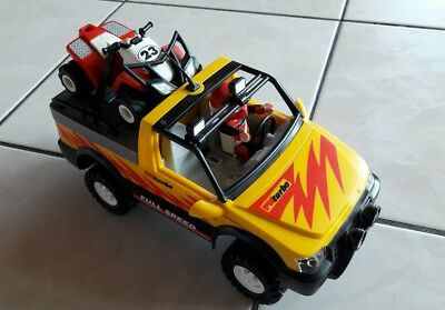 Playmobil 4228 Pick-up Racing Quad RC- fähig