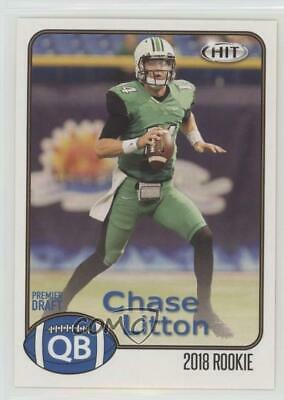 2018 Sage Hit  18 Chase Litton Marshall Thundering Herd Rookie Football Card 34b549f38bd2