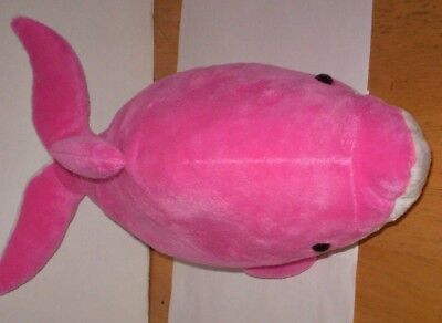 Pink Dolphin From Sea Life Park Hawaii 15 Inches Long