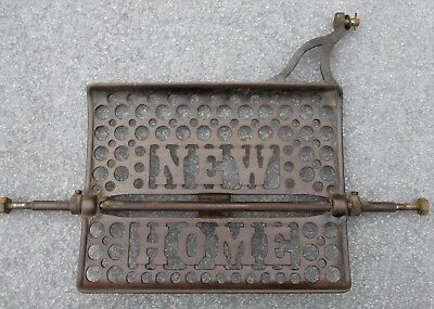 New Home Antique Treadle Sewing Machine Cast Iron Foot Pedal
