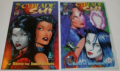 Cyblade Shi #1 ~ Regular And Variant ~ Nm-/nm ~ 1St Appearance Witchblade Image