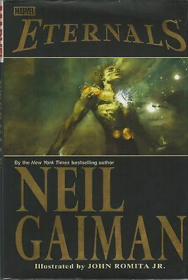 Marvel: Eternals by Neil Gaiman 2007 Stated 1st Printing HCDJ in Archival Cover