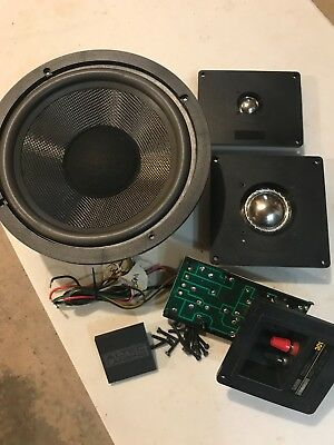 ALTEC LANSING 301 Speaker Parts - Components For One Speaker -  Complete/Working