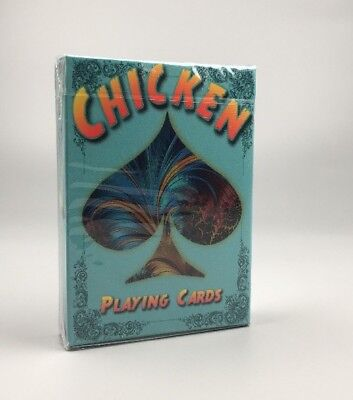 Chicken Playing Cards Poker Size Deck USPCC Rooster Custom Limited Edition
