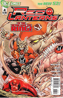 US DC Red Lanterns: 4