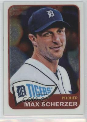 Sports Trading Cards & Accessories 2010 Topps Chrome Refractor #70 Max Scherzer Detroit Tigers Baseball Card